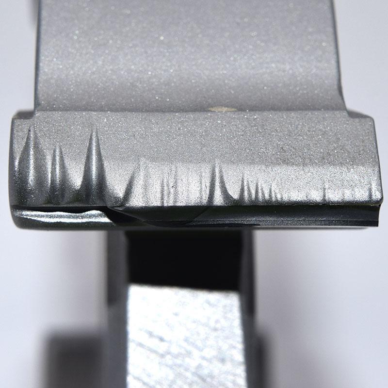 Damaged PCD Tool